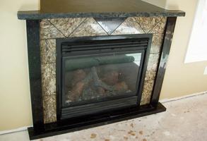 Custom Granite Fireplaces