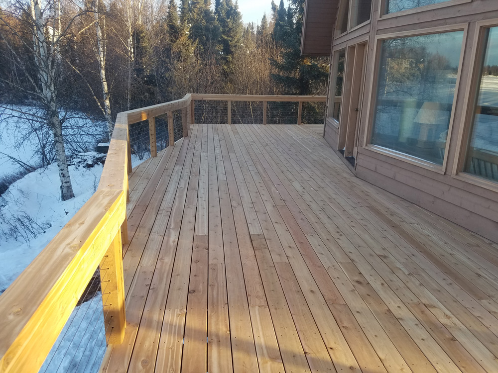 Custom Cabin Builders Alaska