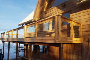 Alaska cabin builders
